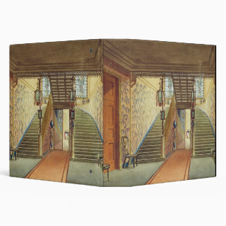 The Staircase, from Views of the Royal Pavilion, B Binders