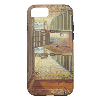 The Staircase, from Views of the Royal Pavilion, B iPhone 8/7 Case