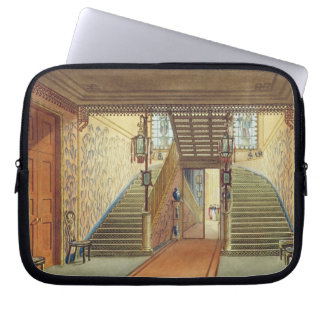 The Staircase, from Views of the Royal Pavilion, B Laptop Computer Sleeve