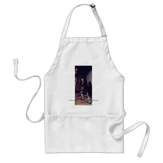 The Staircase Group  By Peale Charles Willson Adult Apron