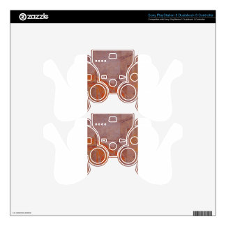 The Staircase Note in Red James McNeill Whistler Decal For PS3 Controller
