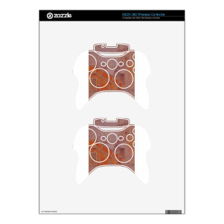 The Staircase Note in Red James McNeill Whistler Xbox 360 Controller Skin
