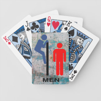 """""""The Stall Wall"""" Bicycle Playing Cards"""