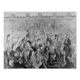 The Stalls, Covent Garden Opera Poster
