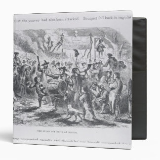The Stamp Act Riots at Boston Binder