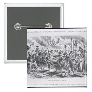 The Stamp Act Riots at Boston Button