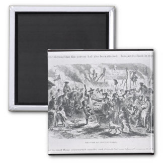 The Stamp Act Riots at Boston Refrigerator Magnet