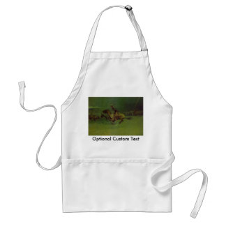The Stampede Adult Apron