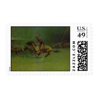 The Stampede Postage Stamp