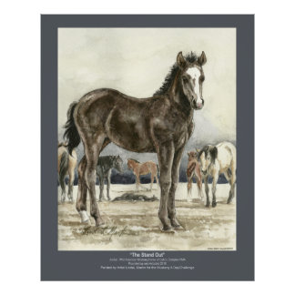 The Stand Out Colt Poster 32x40 JAZ