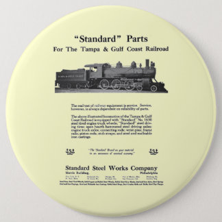 The Standard Steel Works 1915 Button