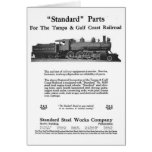 standard steel works company, train, trains, steam