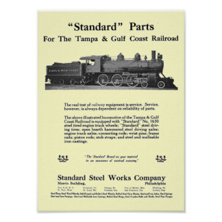 The Standard Steel Works 1915 Poster