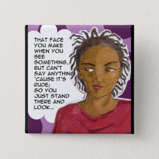 The 'Stank' Face Pinback Button