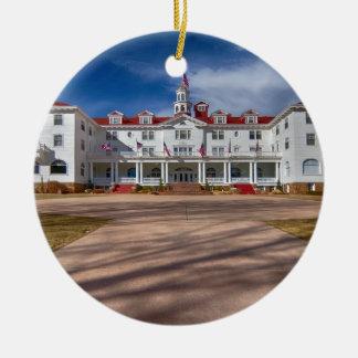The Stanley Hotel Ceramic Ornament