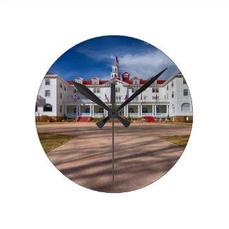 The Stanley Hotel Round Clocks