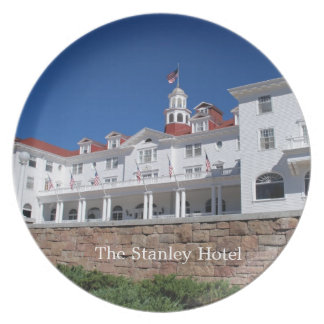 The Stanley Hotel Plate
