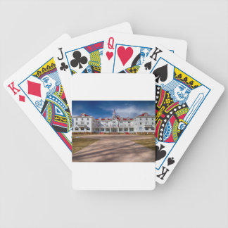The Stanley Hotel Poker Cards