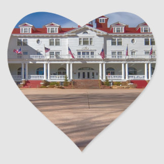 The Stanley Hotel Heart Stickers