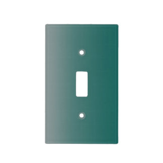 The Stanton Gray and Blue Light Switch Cover