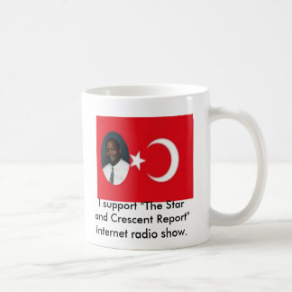 """""""The Star and Crescent Report"""" mug"""