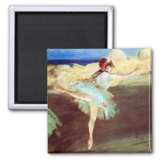 The Star: Dancer on Point by Degas Magnet