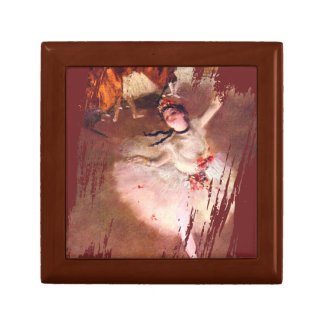 The Star (Dancer on the Stage) by Edgar Degas Gift Box
