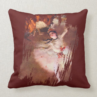The Star (Dancer on the Stage) by Edgar Degas Throw Pillow