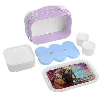 The star horse lunch box