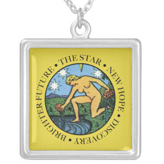 The Star Necklace with Text
