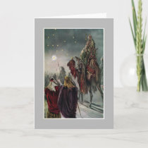 The Star of Bethlehem. Holiday Card