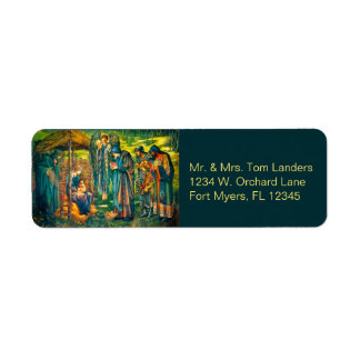The Star of Bethlehem Return Address Labels