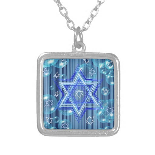 The Star of David and the bubbles. Jewelry