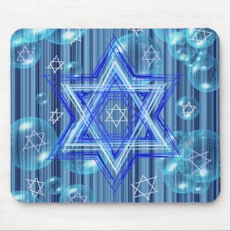 The Star of David and the bubbles. Mouse Pad