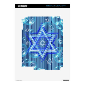 The Star of David and the bubbles Skins For iPad 3