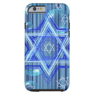 The Star of David and the bubbles. Tough iPhone 6 Case