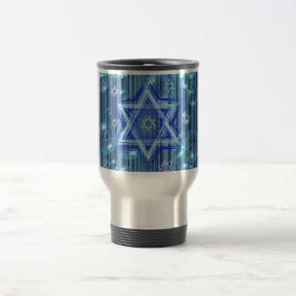 The Star of David and the bubbles. Travel Mug