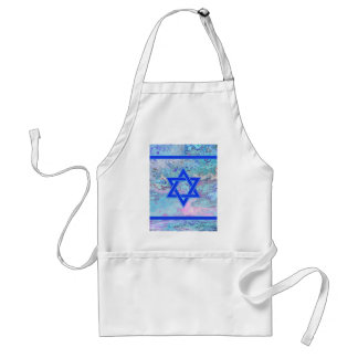 The Star of David on Marble Adult Apron