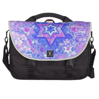 The Star of David... on marble. Computer Bag