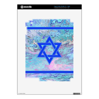 The Star of David on Marble Decals For The iPad 2