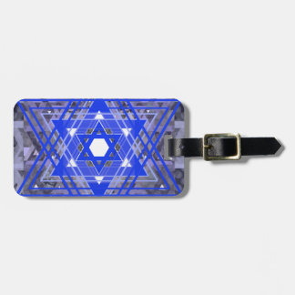 The Star of David Overlays Tags For Luggage