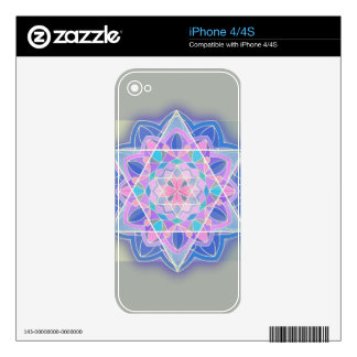 The Star of David. Skin For iPhone 4S