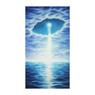 The star of life canvas print