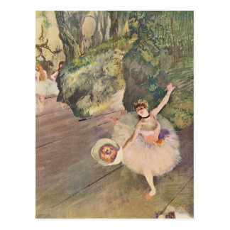 The Star of the Ballet by Edgar Degas Postcard