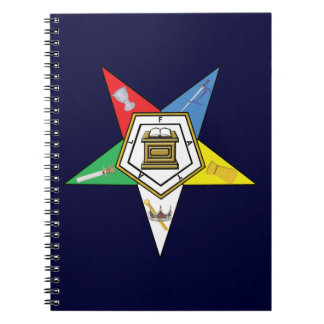 The Star of the OES Spiral Notebook
