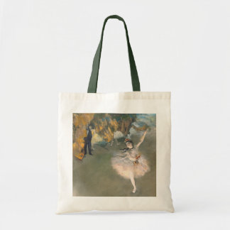 The Star, or Dancer on the stage, c.1876-77 Budget Tote Bag