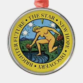 The Star Ornament with Text