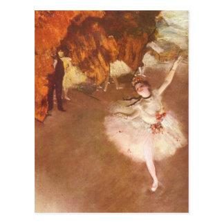 The Star Prima Ballerina by Edgar Degas Post Card