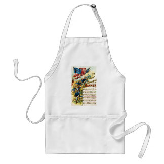 The Star Spangled Banner 1908 Adult Apron