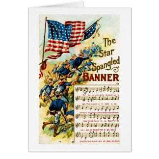 The Star Spangled Banner 1908 Card